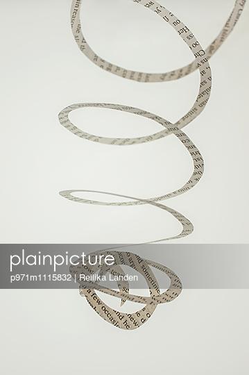 Paper swirl - p971m1115832 by Reilika Landen