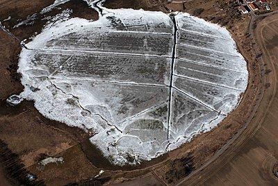 Toteisloch im Winter - p1016m1590770 von Jochen Knobloch
