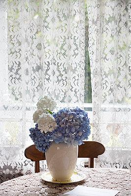 Hortensien - p1261m1124564 von tromp l'oeil