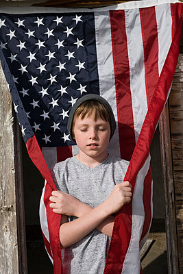 Little patriot - p1262m1215962 by Maryanne Gobble