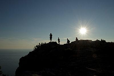 Sonnenuntergang - p021m932451 von Siegfried Kuttig