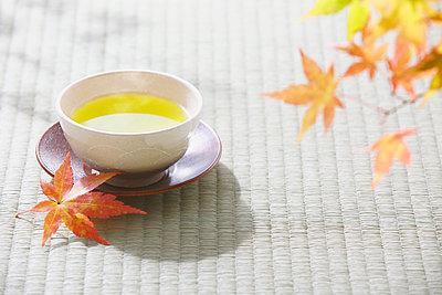 Green tea - p307m1036214f by Shingo Tosha