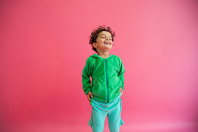 Laughing boy - p1466m1563726 by Stefanie Giesder