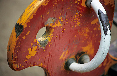 Old rocking horse - p2400274 by Valerie Wagner