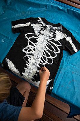 Skelett shirt - p628m2184808 by Franco Cozzo
