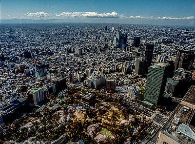 Blick über Tokio - p741m892690 von Christof Mattes