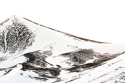 Snow-covered mountain - p813m1120001 by B.Jaubert
