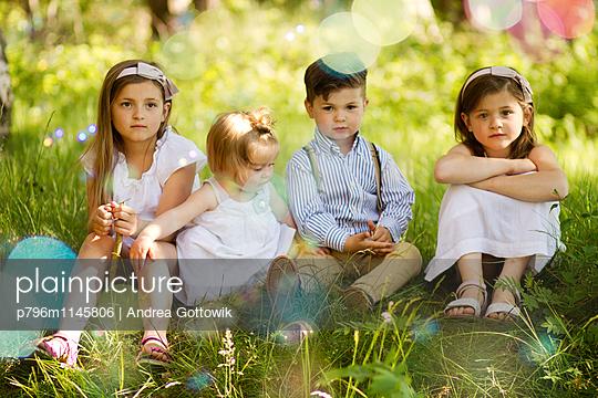 Geschwister - p796m1145806 von Andrea Gottowik