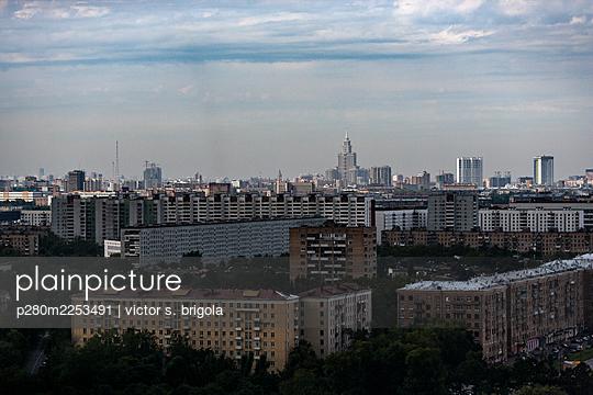 Cityscape - p280m2253491 by victor s. brigola