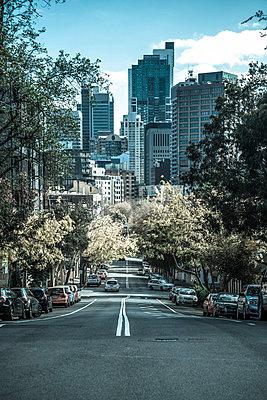 City view, Darlinghurst, Burton Street, Sydney - p1170m1044347 by Bjanka Kadic