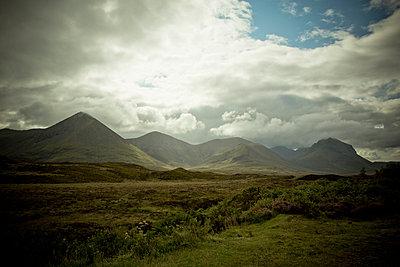 Die Cuillin Hills - p445m931969 von Marie Docher