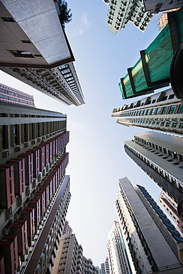 Apartment buildings in hong kong - p9246138f by Image Source
