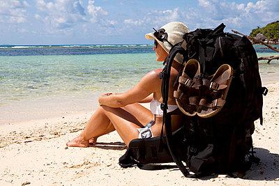 Beach holidays - p0452487 by Jasmin Sander