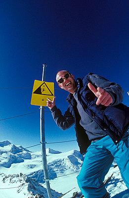 Achtung Gletscherspalte - p2200104 von Kai Jabs