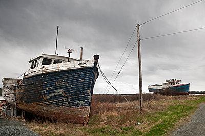Schiffswracks - p470m1059326 von Ingrid Michel