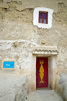 Facade of Old House - p1072m1056666 by chinch gryniewicz