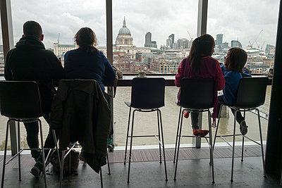 Blick über London - p1079m1184948 von Ulrich Mertens