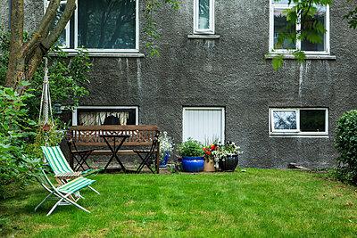 Vorgarten in Reykjavik - p1501m2109024 von Alexander Sommer