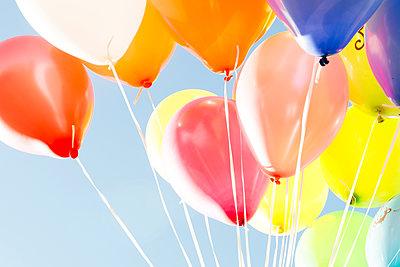 Helium balloon - p451m1143442 by Anja Weber-Decker