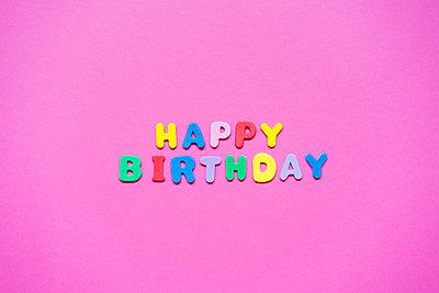 HAPPY BIRTHDAY DREI - p1184m1223767 von brabanski