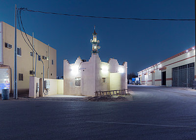 mosque in sharma, NEOM city - p1542m2175036 by Roger Grasas