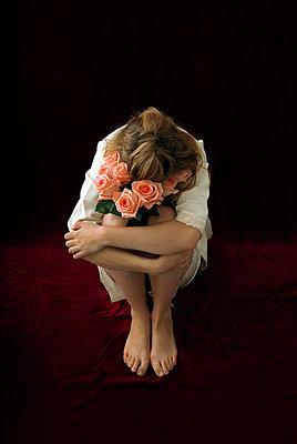Unhappy bride - p6780003 by Christine Mathieu