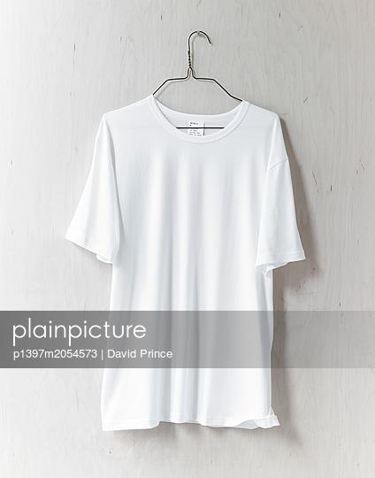 T-Shirt auf einem Kleiderbügel - p1397m2054573 von David Prince
