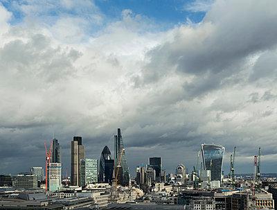 City of London skyline, London, UK - p429m1135292f by Mischa Keijser