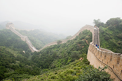 Great wall of china - p9247904f by Image Source