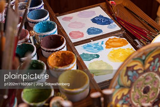 Malerei - p1202m1162067 von Jörg Schwalfenberg