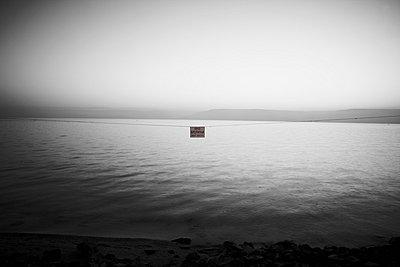 View of Lake Tiberias - p300m660088f by Tom Hoenig