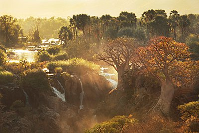 Angola, Epupafälle - p1172m955333 von Frank Tusch
