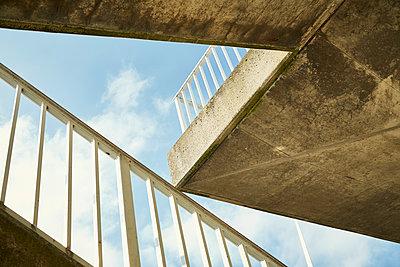 Betonaufgang am Eidersperrwerk - p1200m1143636 von Carsten Görling