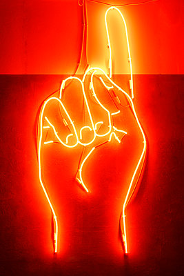 neon sign - p1280m2135207 by Dave Wall