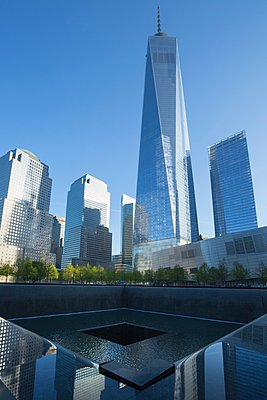 National September 11 Memorial & Museum, New York, USA - p429m1095471f by Henglein and Steets