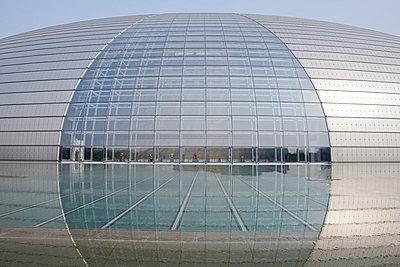 Modernes Gebäude in Beijing - p7980213 von Florian Löbermann