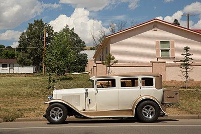 Classic car - p1291m1116088 by Marcus Bastel
