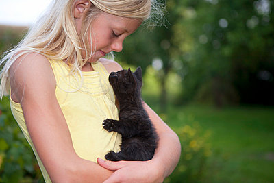 Love of animals - p294m856077 by Paolo