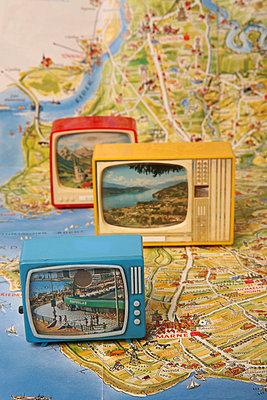 Miniature tv - p1650879 by Andrea Schoenrock