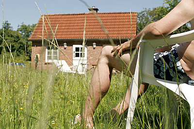Auszeit im Garten - p1650469 von Andrea Schoenrock