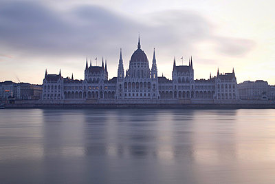 Parliament Building in Budapest - p1399m2149692 by Daniel Hischer