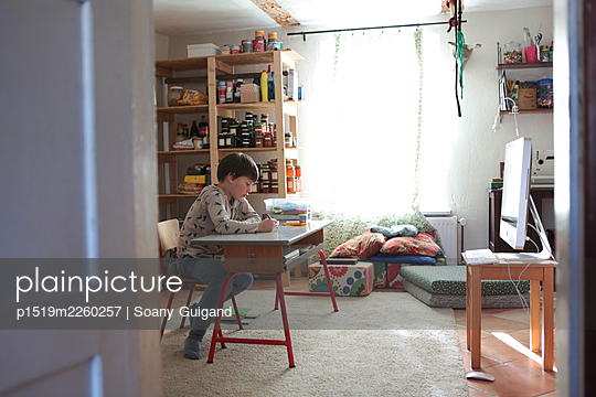 Homeschooling - p1519m2260257 by Soany Guigand