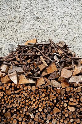 Brennholz - p1149m949603 von Yvonne Röder