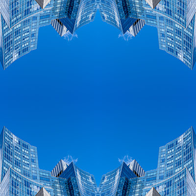 Abstract Architecture Kaleidoscope Boston - p401m2221896 by Frank Baquet