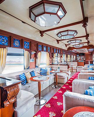 Transsibirische Eisenbahn, Einrichtung - p390m2013433 von Frank Herfort