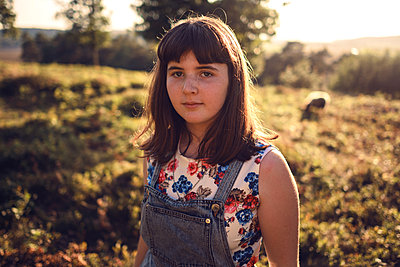Field of sheep - p1507m2027725 by Emma Grann