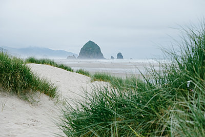 Haystack Rock  - p1262m1440867 by Maryanne Gobble