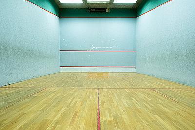 Deserted squash hall - p1638m2288426 by Macingosh