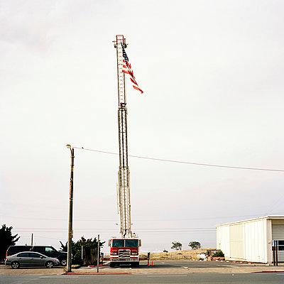 Feuerwehrauto, USA - p1008m939791 von Valerie Schmidt