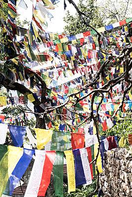 Tempelanlage Swayambhunath - p1243m1525627 von Archer
